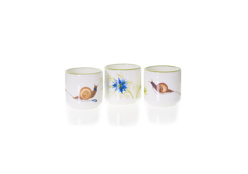 Emma Dunne Limited Emma Dunne Straight Sided Egg Cup At a Snail's Pace