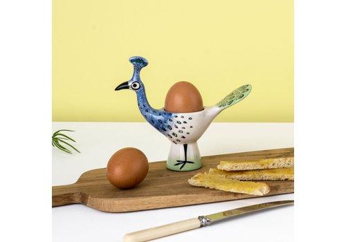 Hannah Turner Egg Cup Peacock
