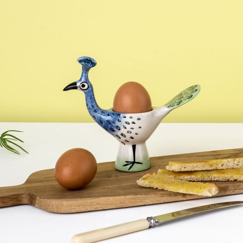 Hannah Turner Hannah Turner Peacock Egg Cup