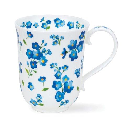 Dunoon Braemar Blue Petite Fleurs