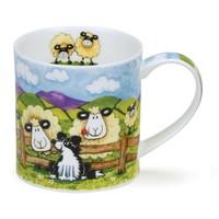 Orkney Silly Sheep Fence Mug