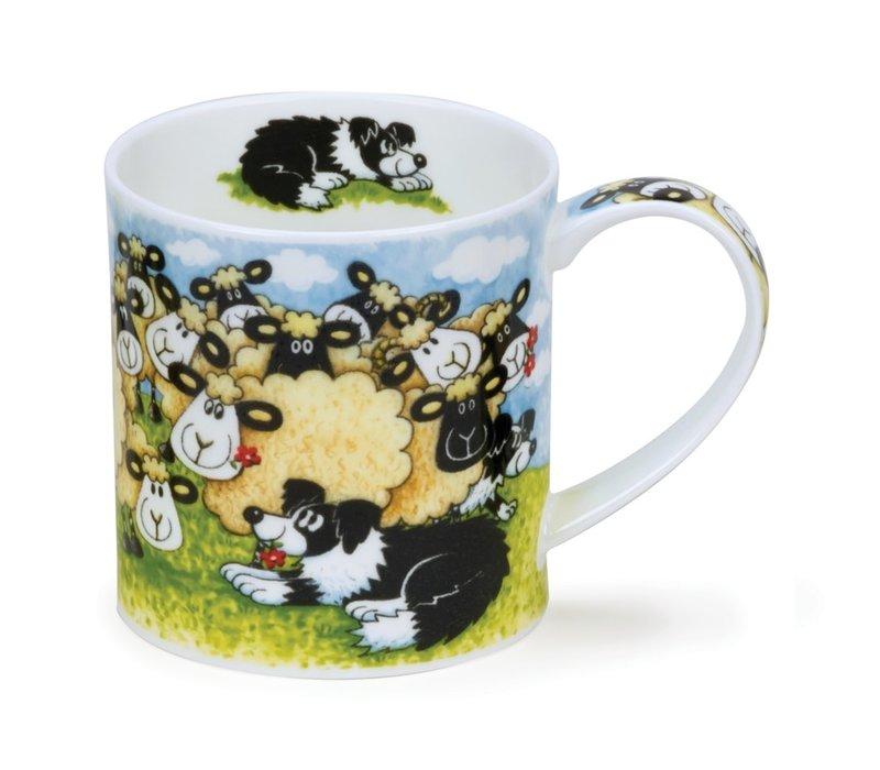 Orkney Silly Sheep Flock Mug