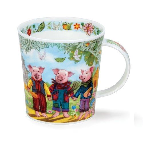 Dunoon Lomond Fairy Tales III Mug ( 3 Little Pigs)