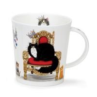 Lomond Regal Cat Mug (Black & White)