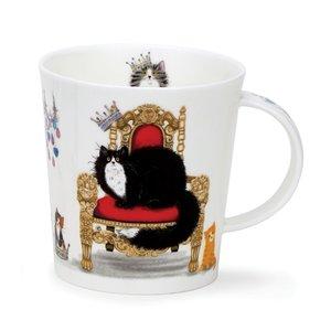Dunoon Lomond Regal Cat Mug (Black & White)