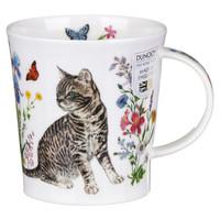 Lomond Floral Cats Tabby Mug