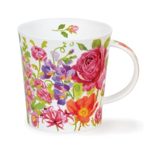 Dunoon Lomond Pink Kelmscott Mug