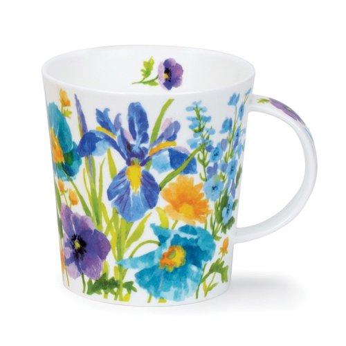 Dunoon Lomond Blue Kelmscott Mug