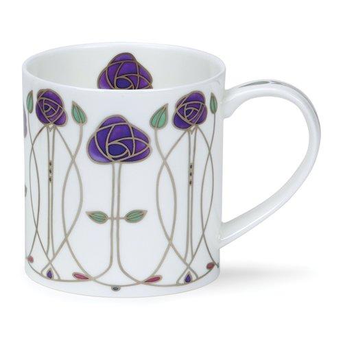 Dunoon Orkney Purple Argyle Mug