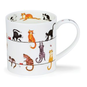 Dunoon Orkney Live Wires Mug  (Cat)