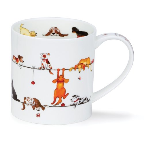 Dunoon Orkney Live Wires Mug (Dogs)