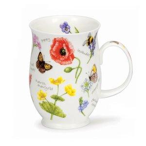 Dunoon Suffolk Wayside Mug - Poppy