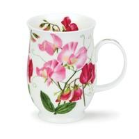 Suffolk Sweet Peas Mug (Light Pink)