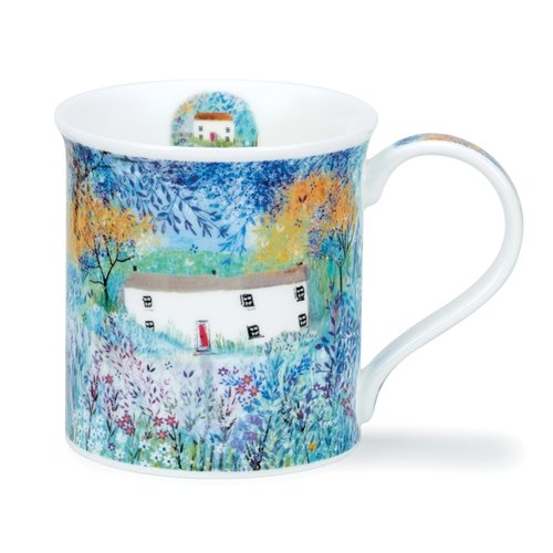 Dunoon Bute Enchanted Cottages Mug Long House
