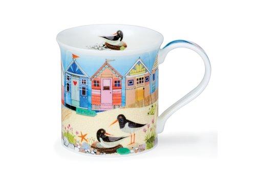 Dunoon Bute Shore Life Mug (Beach Huts)