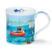 Bute Shore Life Mug (Fishing Boats)