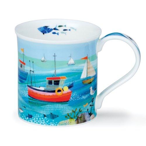 Dunoon Bute Shore Life Mug (Fishing Boats)
