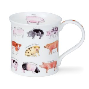 Dunoon Bute Animal Breeds Mug (Pig)