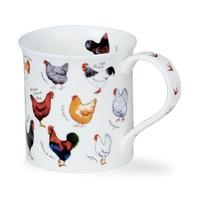 Bute Animal Breeds Mug (Chicken)