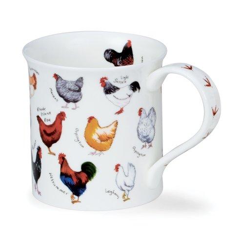 Dunoon Bute Animal Breeds Mug (Chicken)