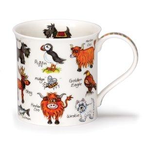 Dunoon Bute Simply Scotland Coo Mug