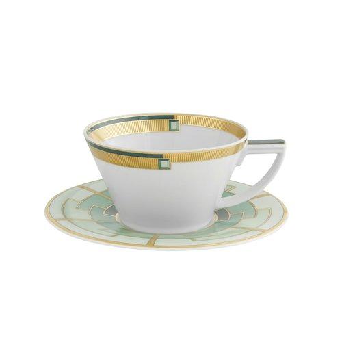Emerald Tea cup & Saucer