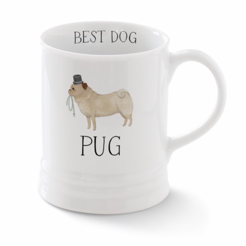 Pug Georgia Mug