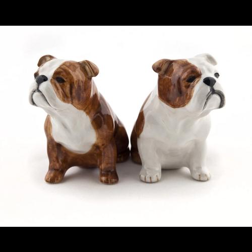 Quail Ceramics Quail English Bulldog Figure
