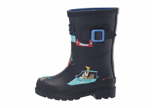 Joules USA Navy Animals Welly Child Size 10 US