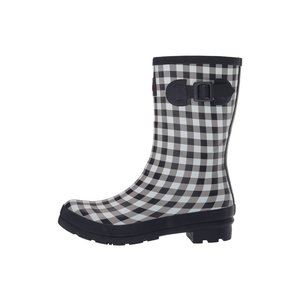Joules USA Navy Gingham Molly Welly Adult Size 10 US