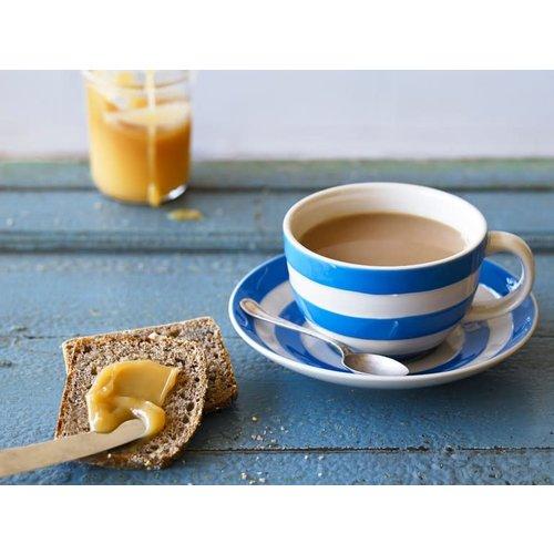Cornishware Cornishware Blue Breakfast Cup and Saucer