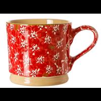 Large Red Lawn Mug