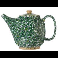 Green Lawn Oval Tea Pot
