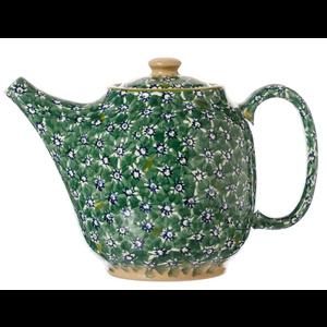 Nicholas Mosse Green Lawn Oval Tea Pot