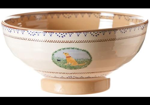 Nicholas Mosse Salad Bowl Assorted Animal Landscape
