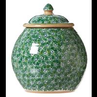 Green Lawn Cookie Jar