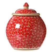 Red Lawn Cookie Jar