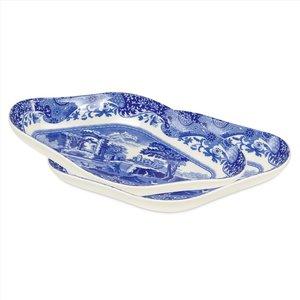 Spode Blue Italian Pickle Dish