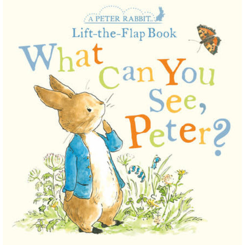 Peter Rabbit What Can You See, Peter?