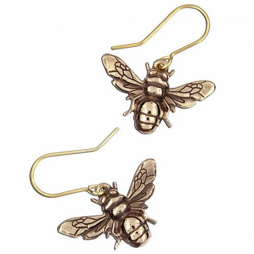 St Justin Bee Drop Earrings