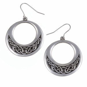 St Justin Creole Earrings Celtic Knotwork
