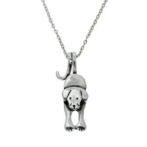 St Justin Puppy Dog Tail Necklace