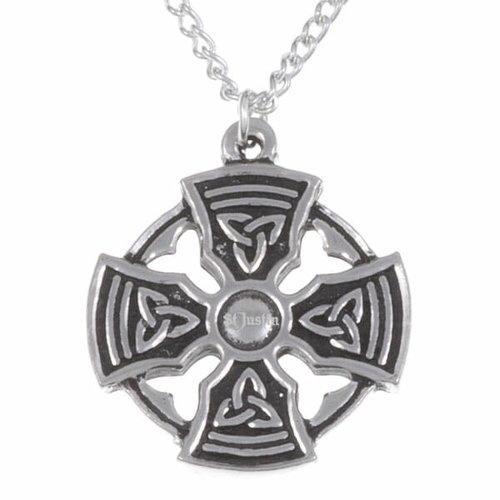 St Justin Padstow Cross Necklace