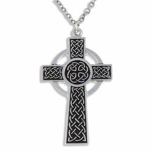 St Justin St Piran Cross Necklace