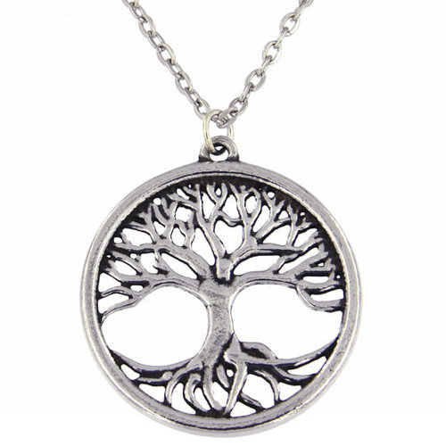St Justin Tree of Life pendant necklace
