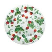Alpine Strawberry Tea/Dessert Plate