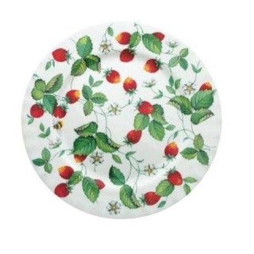 Alpine Strawberry Tea plate