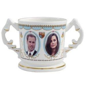 Aynsley China Aynsley Royal Engagement Loving Cup