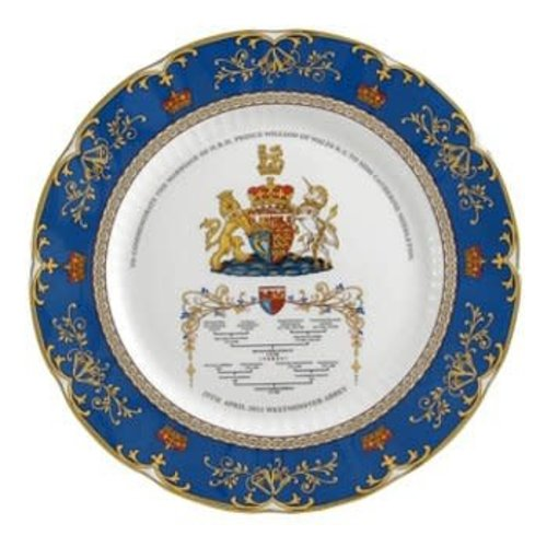 Aynsley China Aynsley Royal Wedding Crown Plate