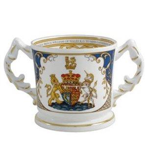 Aynsley China Aynsley Royal Wedding Loving Cup
